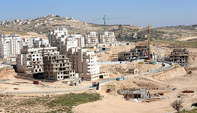 A general view of new Jewish housing in the Israeli settlement Har Homa, West Bank, February 18, 2011. U.S. President Barack Obama called Palestinian President Mahmoud Abbas on Thursday in an attempt to prevent the upcoming vote on an United Nations resolution condemning Israeli settlements. The Palestinian Authority and other Arab nations have pushed for the UN Security Council to vote on the resolution which is scheduled to take place today.  UPI/Debbie Hill